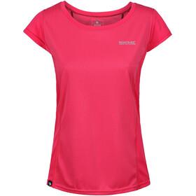 Regatta Hyper-Reflective T-shirt manches courtes Femme, bright blush/bright blush reflective
